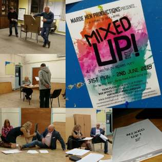 Mixed Up rehersal Photo 2